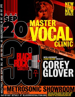 30 anniversary vocal clinic 9.20
