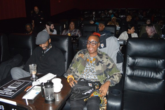 ***brc bb black panther screening honeychild and friend scott amy rebecca