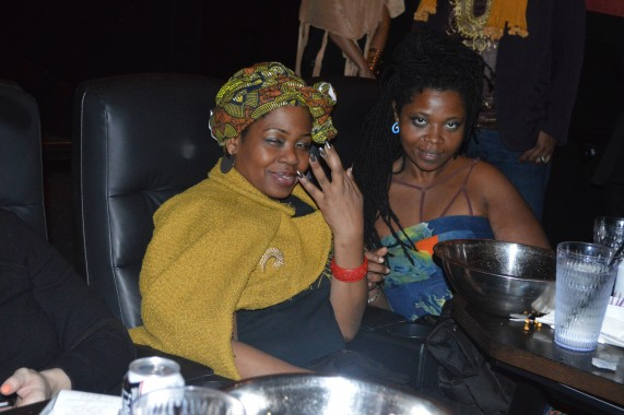 **brc bb black panther screening ola and saucy friend